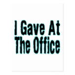 Di en la oficina postal