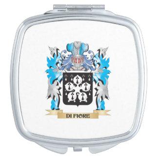Di-Fiore Coat of Arms - Family Crest Makeup Mirror