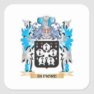 Di-Fiore Coat of Arms - Family Crest Stickers
