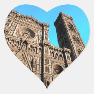 Di Firenze del Duomo de IL Pegatina En Forma De Corazón