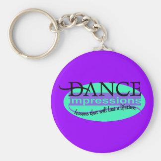 DI Logo Basic Round Button Keychain