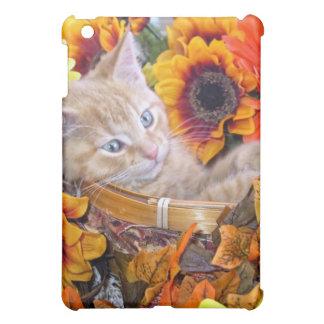 Di Milo, Fun Kitty Cat Kitten in Basket of Flowers Case For The iPad Mini