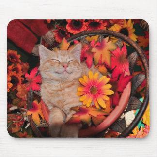 Di Milo, gatito sonriente del gato del gatito, flo Alfombrillas De Ratón
