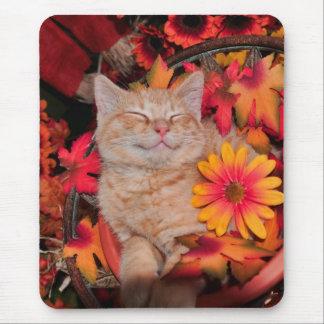 Di Milo, gatito sonriente del gato del gatito, flo Alfombrilla De Raton