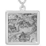 Di Roma, 1575 de Le Sette Chiesa Colgante Cuadrado
