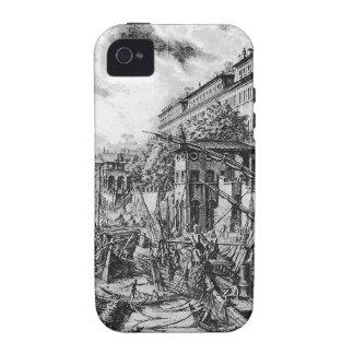Di Roma de Vedute de Giovanni Battista Piranesi Case-Mate iPhone 4 Carcasa