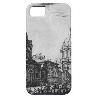 Di Roma de Vedute de Giovanni Battista Piranesi Funda Para iPhone 5 Tough