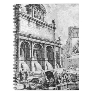 Di Roma de Vedute de Giovanni Battista Piranesi Notebook