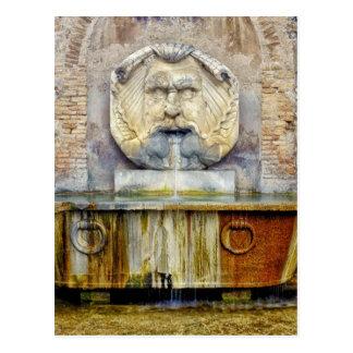 Di Santa Sabina de Fontana del mascherone Postales