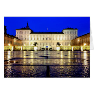 Di Torino del reale de Palazzo Tarjeta De Felicitación