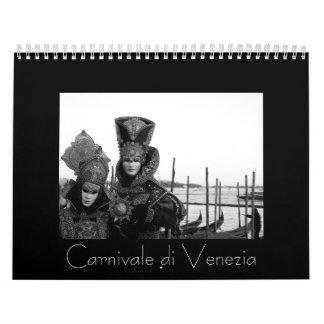 Di Venezia de Carnivale Calendario De Pared