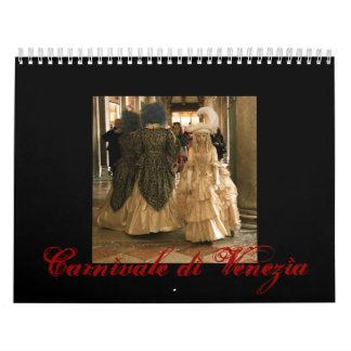 Di Venezia II de Carnivale Calendarios De Pared