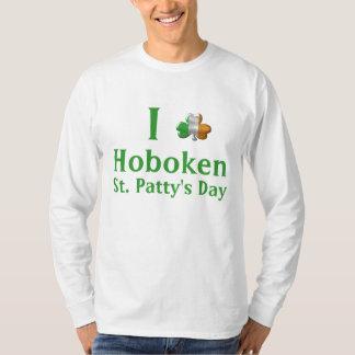 Día 2010 de Hoboken St Patrick Playera