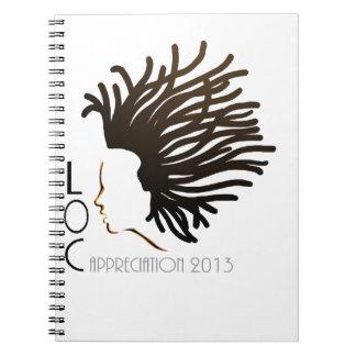 Día 2013 del aprecio del LOC Spiral Notebook
