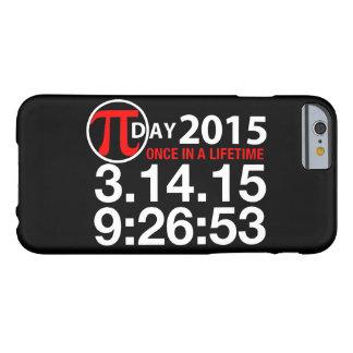 Día 2015 del pi funda de iPhone 6 barely there
