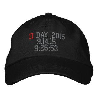 Día 2015 del pi gorra de béisbol bordada