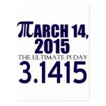 Día 2015 del pi postal