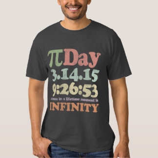 Día 2015 del vintage pi camisas