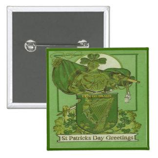 Día 33 del St Patricks del vintage Pins