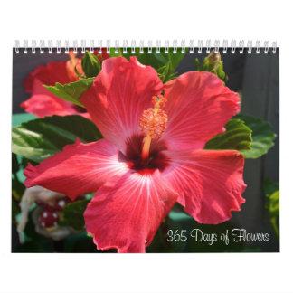 Día 365 de calendario de las flores