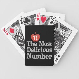 Día 3,14 del pi - el número más delicioso barajas de cartas