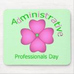 Día administrativo de los profesionales del arte d tapete de raton
