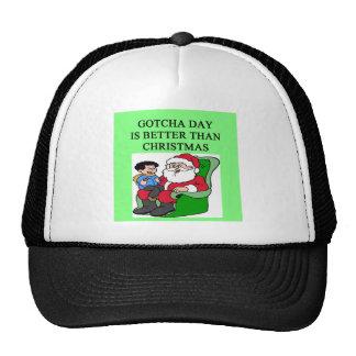 día adoptado del hijo gotcha gorras