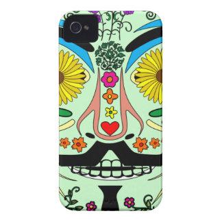 Día ANÓNIMO de los muertos 2 del arte de la máscar iPhone 4 Case-Mate Protector