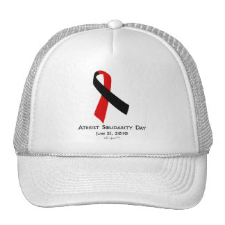 Día ateo de la solidaridad gorra