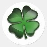 Día Bling del St. Patricks Etiqueta