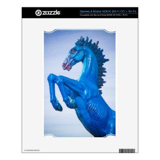 DIA Blue Mustang Portrait 2 NOOK Skins