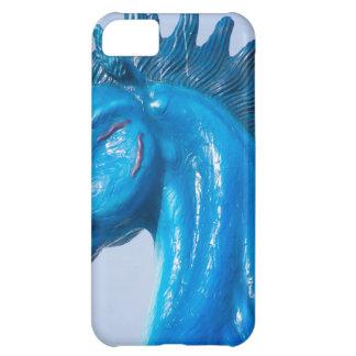 DIA Blue Mustang Portrait iPhone 5C Case