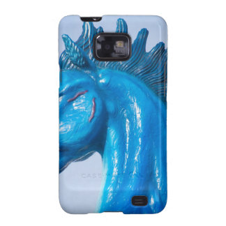 DIA Blue Mustang Portrait Samsung Galaxy S2 Covers