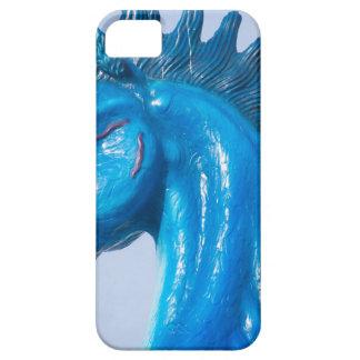 DIA Blue Mustang Portrait iPhone 5 Case