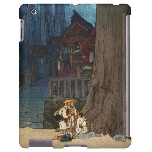 Día brumoso en arte del woodblock de Nikko Hiroshi Funda Para iPad