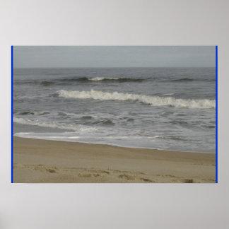 Día calmante en la playa poster