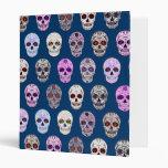 """Día colorido del modelo muerto del cráneo del carpeta 1"""""""