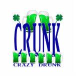 Día CRUNK - un viejo término irlandés del St Patri Escultura Fotografica