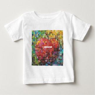 Día cuatro - Mosaico Playera De Bebé