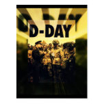 Día D 65.o aniversario 6 de junio de 2009 Postal