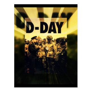 Día D 65.o aniversario 6 de junio de 2009 Tarjeta Postal