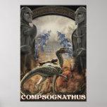 Día D de Dino: Compy Posters