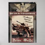 Día D de Dino: Desmatosuchus Poster