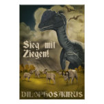 Día D de Dino: Dilophosaurus Poster