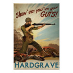 Día D de Dino: Hardgrave Posters