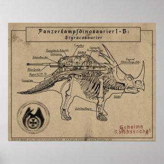Día D de Dino: Styracosaur Impresiones