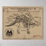 Día D de Dino: Styracosaur Póster