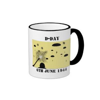 DÍA D, el 6 de junio de 1944, PAPÁ Taza De Dos Colores