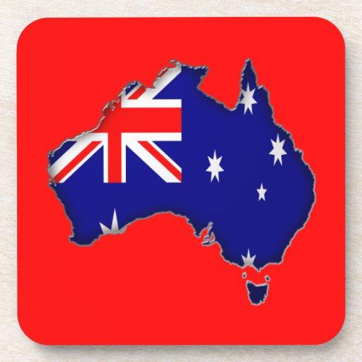 Día de Australia Posavasos