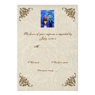 Día de boda de RSVP que se casa muerto Comunicados